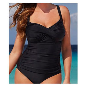 Swimsuits For All shirred twist 1pc Swimsuit !